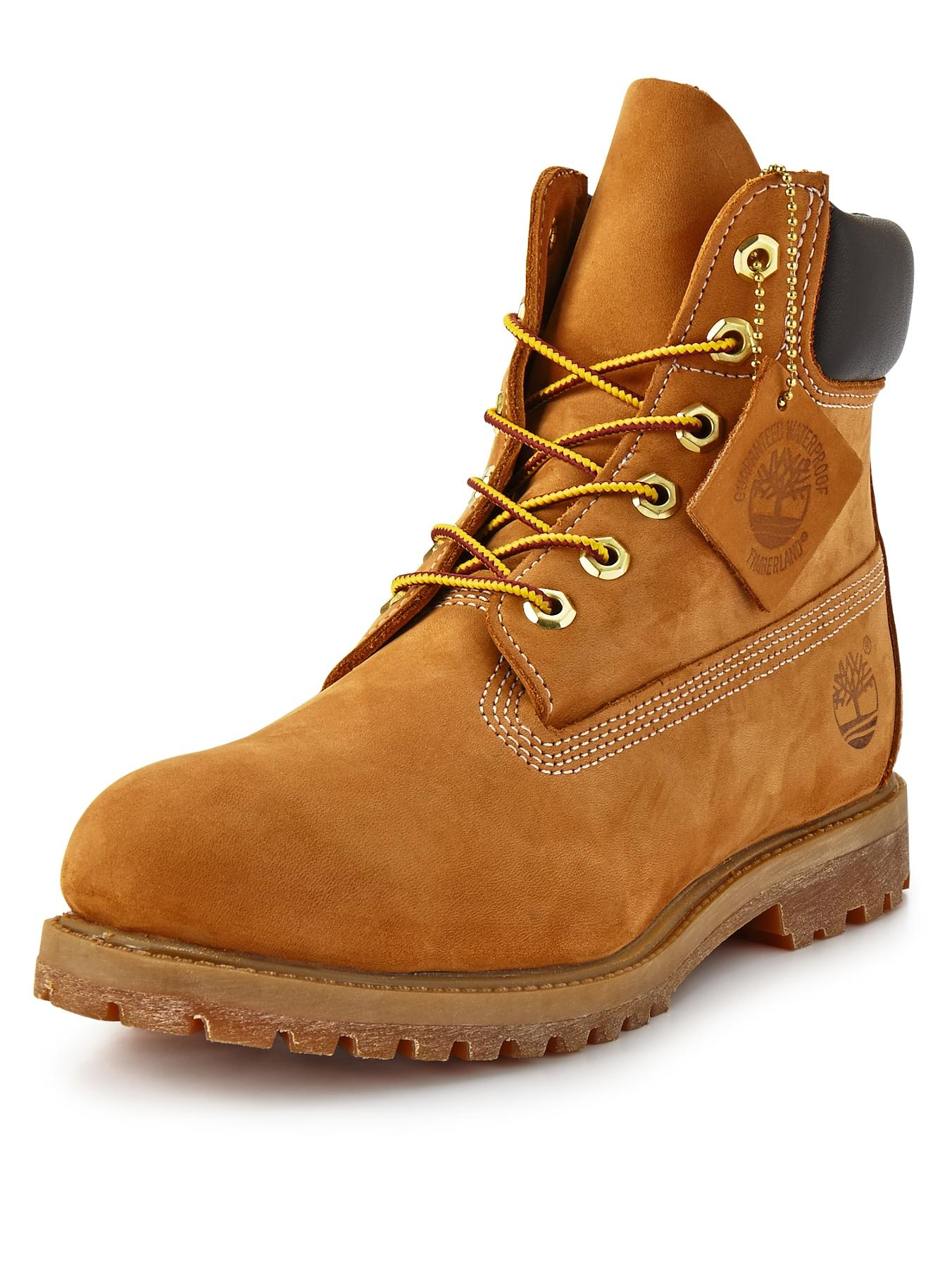 6 inch Premium Classic Ladies Boots, Wheat