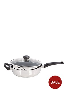 morphy-richards-24cm-saute-pan-stainless-steel