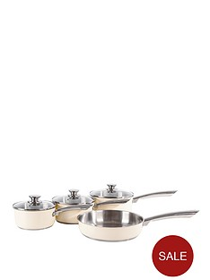 morphy-richards-pan-set-4-piece-cream
