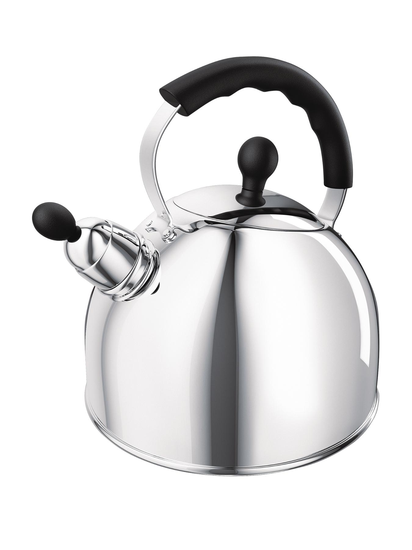 2.5 Litre Whistling Kettle - Stainless Steel