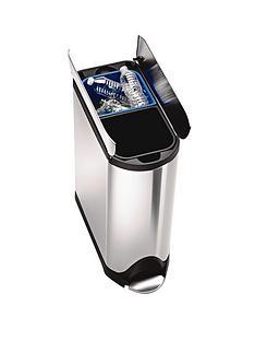 simplehuman-butterfly-recycler-2020-litre-bin