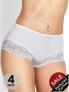 intimates-essentials-lace-trim-microfibre-shorts-4-pack