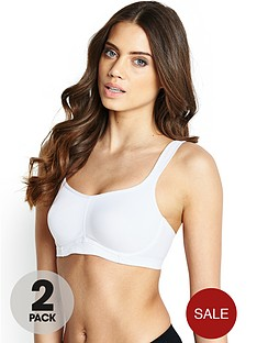 intimates-solutions-underwired-sports-bras-2-pack-blackwhite