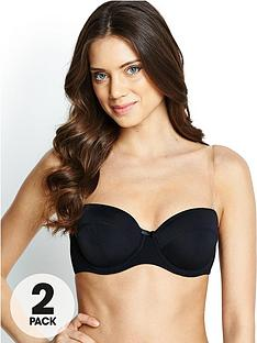 intimates-solutions-lightly-padded-multiway-bras-2-pack