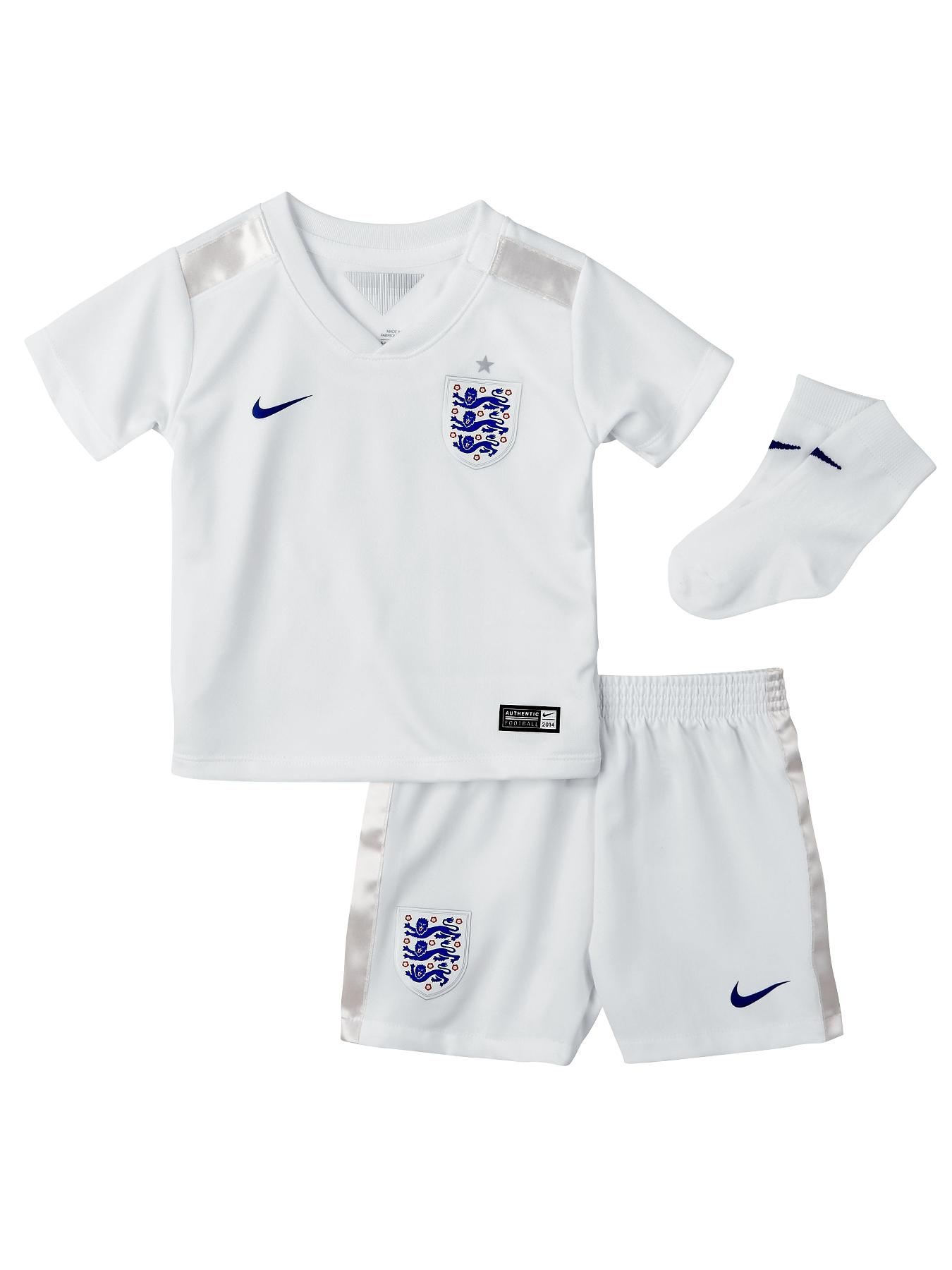 England 2014/15 Infants Home Kit, White