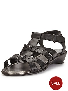 foot-cushion-freda-cut-out-low-wedge-sandals