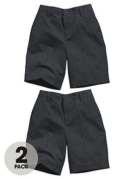 top-class-boys-teflon-coated-flat-front-school-shorts-2-pack