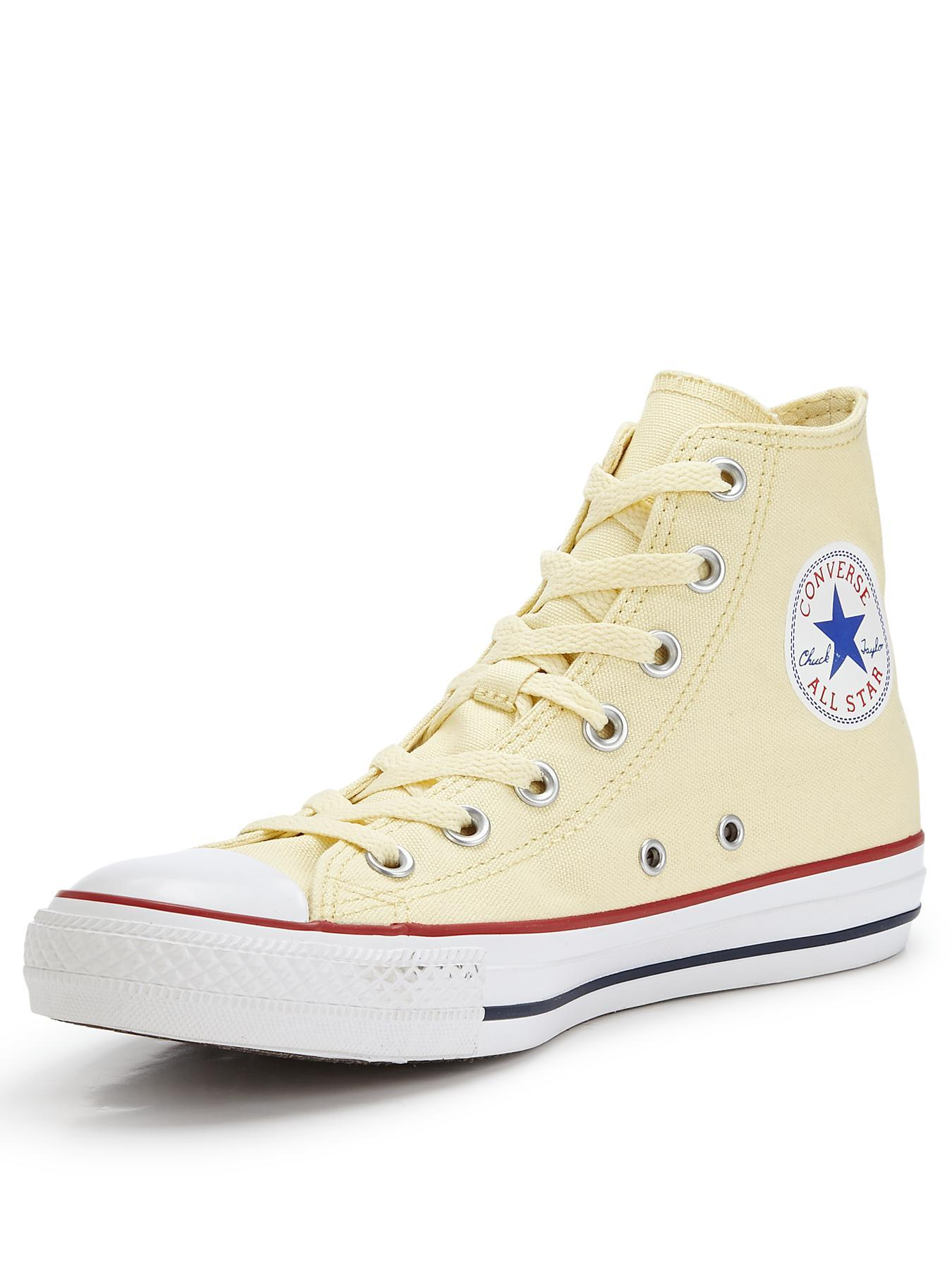 Chuck Taylor All Star Core Hi Top Plimsolls, White
