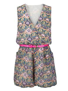 little-misdress-teen-aztec-playsuit-with