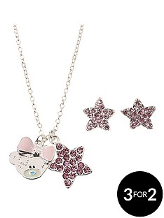 me-to-you-tatty-teddy-silver-plated-and-crystal-encrusted-pendant-necklace-and-earring-set