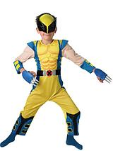 Boys Deluxe Wolverine - Child Costume
