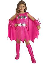 Girls Pink Batgirl Child Costume