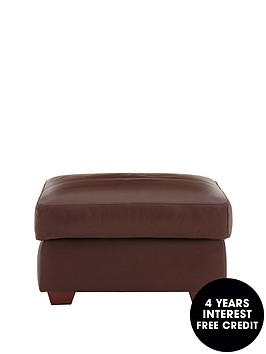 napoli-leather-footstool-next-day-delivery