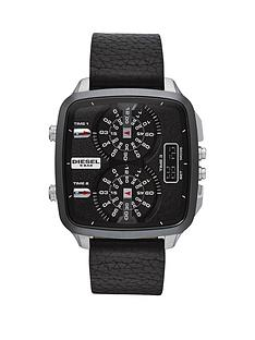 diesel-hal-black-leather-strap-mens-watch