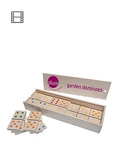 plum-garden-dominoes-set