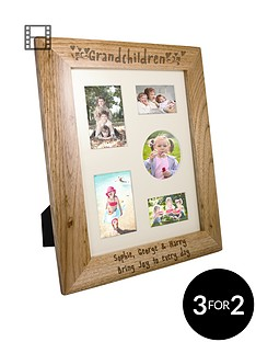 personalised-grandchildren-wooden-frame