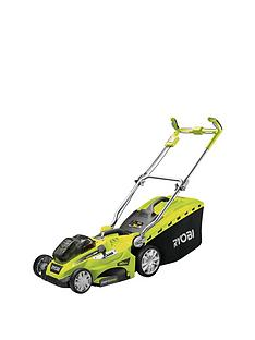 ryobi-rlm18x40h240-one-36-volt-cordless-fusion-lawnmower-with-2-x-one-batteries-and-charger