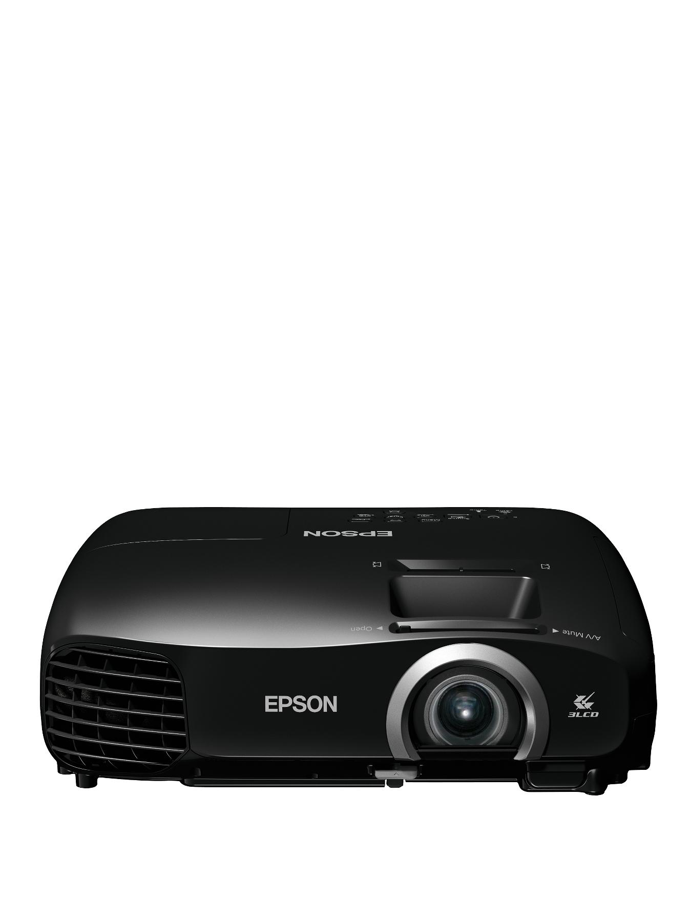 Epson EHTW5200 Full HD 1080p 3D Home Cinema Projector with integrated speaker Black