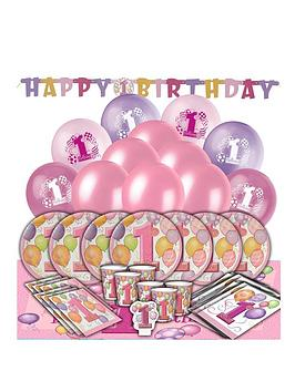 girls-1st-birthday-balloons-party-kit-for-16