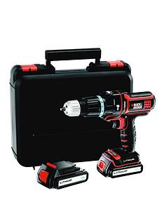 black-decker-mt188kb-gb-18v-multievo-lithium-ion-hammer-drill-with-2-batteries-and-kitbox