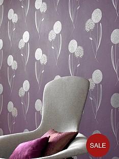 graham-brown-blue-label-essence-allium-wallpaper-purple