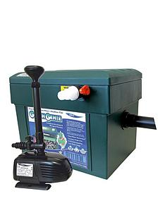 lotus-green-genie-triple-kit-2000-including-an-otter-legend-1500-pond-pump