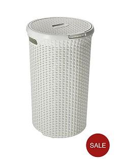 curver-48-litre-round-laundry-hamper