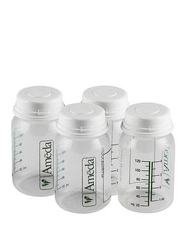 ameda-milk-collection-bottles-120ml-4-pack