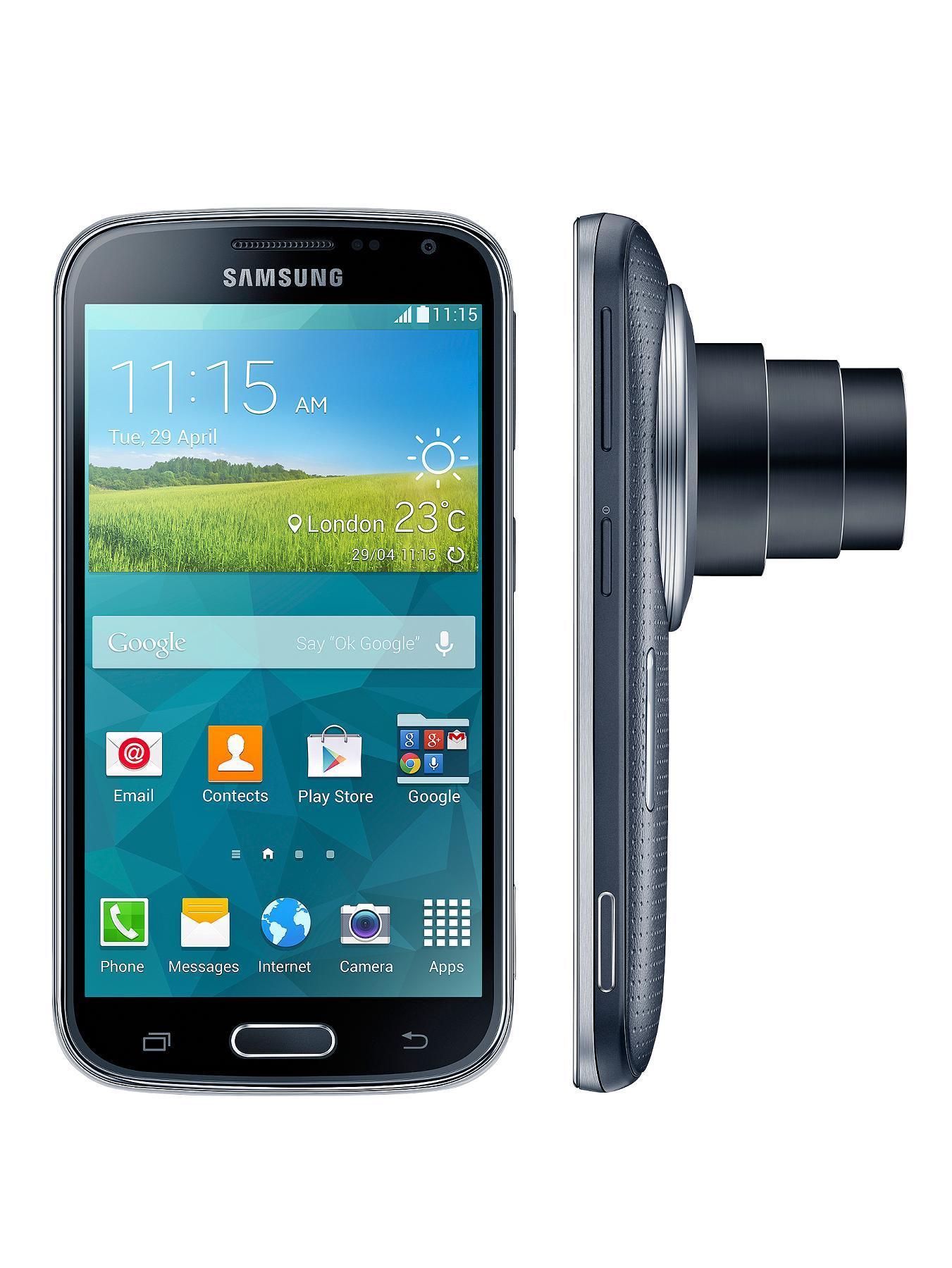 Galaxy K Zoom Smartphone  Black