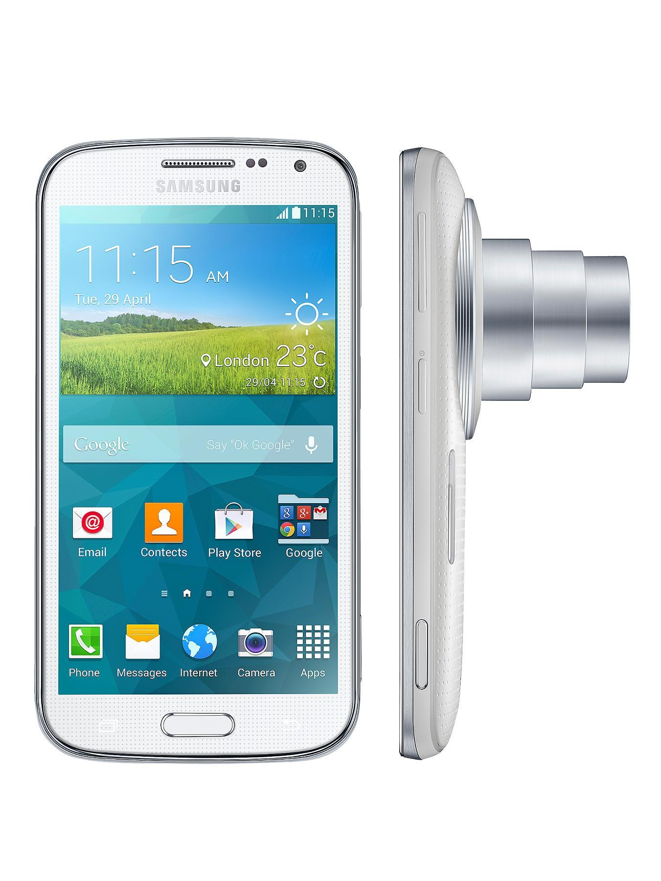Galaxy K Zoom Smartphone  White