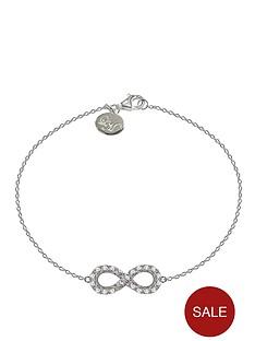 little-mistress-sterling-silver-infinity-cubic-zirconia-bracelet