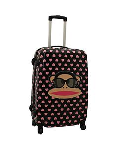 paul-frank-pink-heart-suitcase