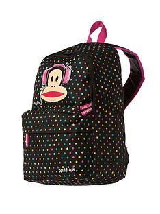 paul-frank-julius-headphones-polka-dot-backpack