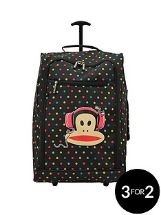 paul-frank-multi-coloured-polka-dot-trolley-bag