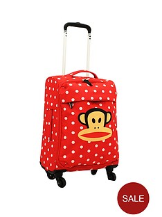 paul-frank-spot-red-trolley-bag