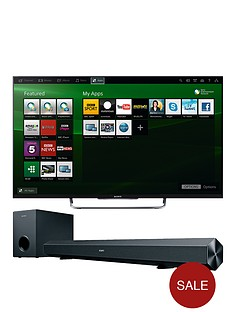 sony-w8-42-inch-full-hd-led-3d-smart-tv-with-free-soundbar-black
