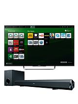 W8 50 inch Full HD 3D Smart LED TV with FREE Soundbar - Black