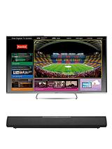 TX-60AS650B 60 inch Passive 3D Smart Full HD Freeview HD LED TV With Freetime and FREE Panasonic SC-HTB8K 80W Bluetooth&reg' Soundbar