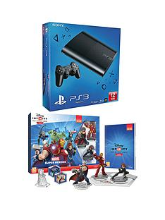 playstation-3-12gb-console-with-disney-infinity-20-marvel-superheroes-starter-pack