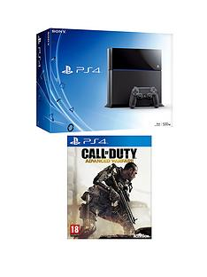 playstation-4-500gb-console-with-call-of-duty-advanced-warfare-and-optional-3-or-12-months-playstation-plus