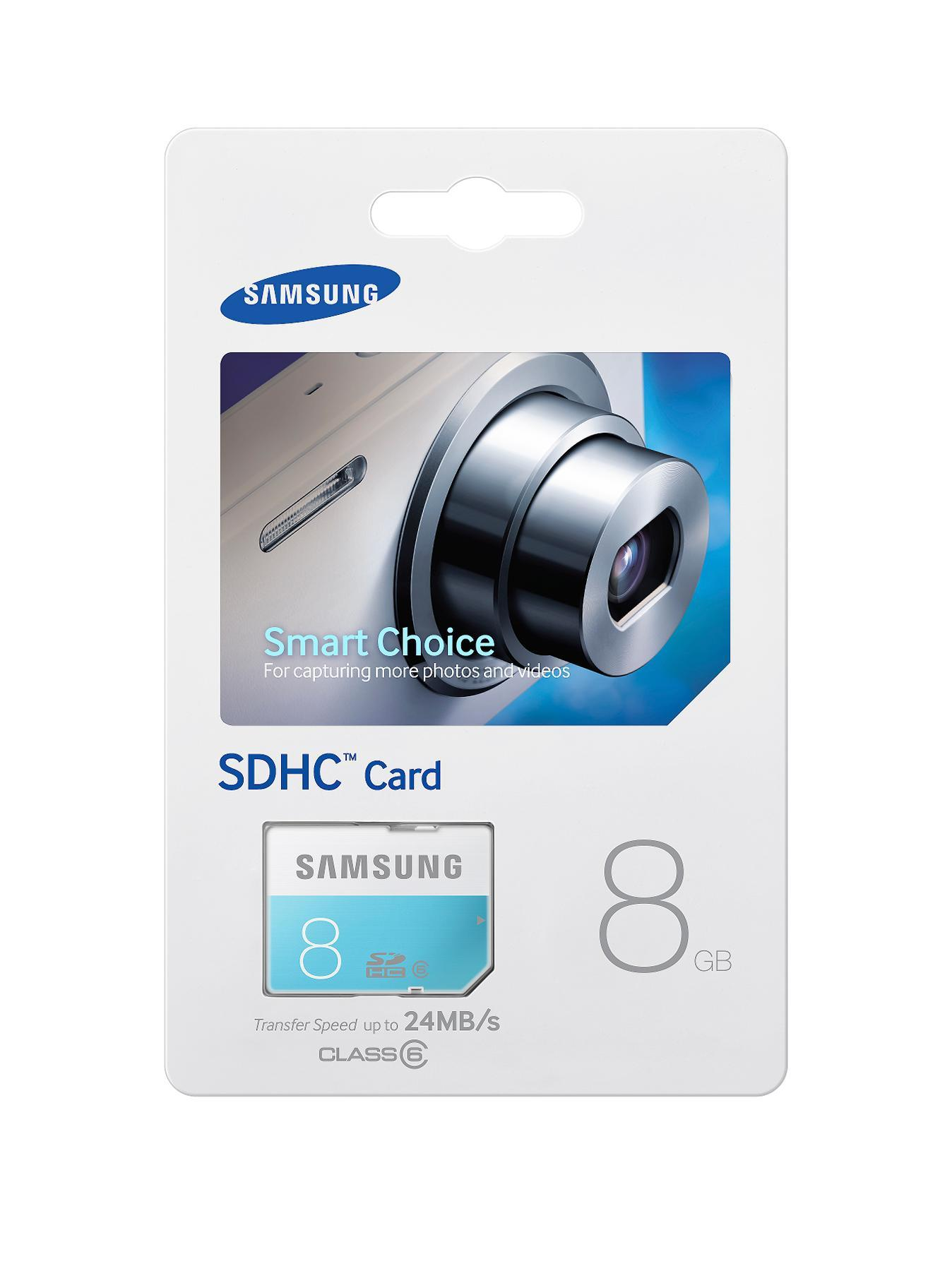 SD HC 8Gb Standard Memory Card at Littlewoods