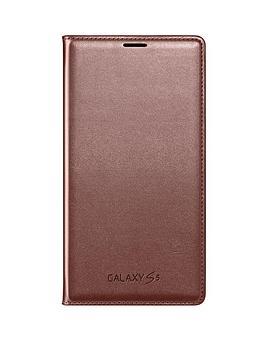 samsung-original-galaxy-s5-flip-wallet-rose-gold