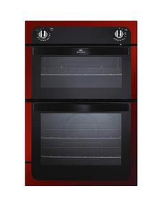 new-world-nw901do-90-cm-built-in-electric-double-oven-red-metallic