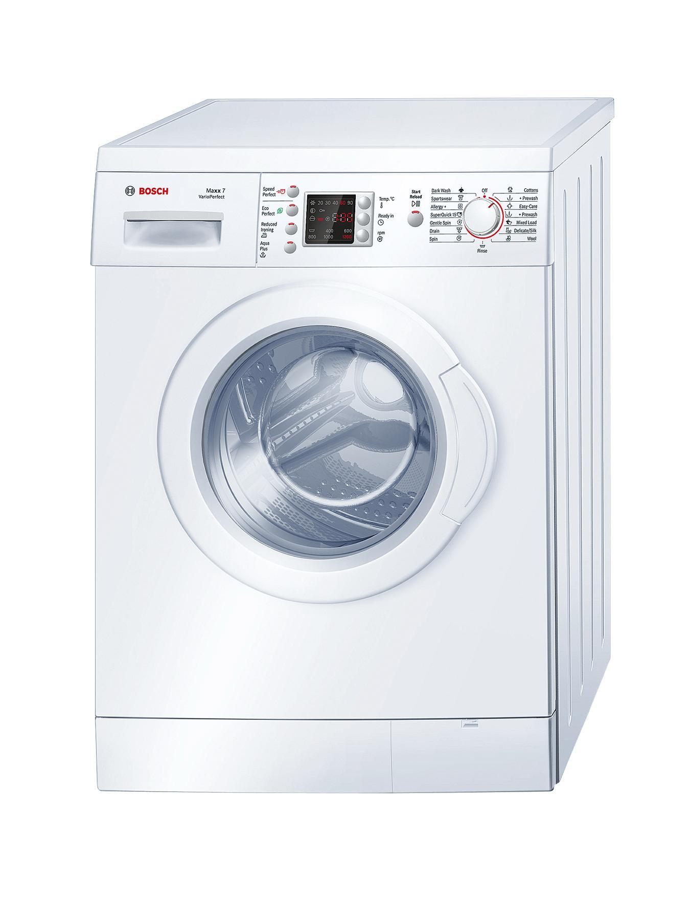 Maxx 1200 Spin 7kg Load Vario Perfect Washing Machine  White