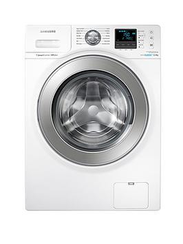 Samsung Wf12F9E6P4W 12Kg Load 1400 Spin Washing Machine With Ecobubble&Trade Technology  White