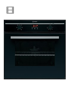 indesit-fim53jkabk-60cm-built-in-single-electric-oven-black