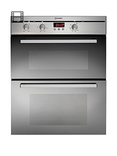 indesit-fimu23ixs-60cm-electric-double-oven-built-under-stainless-steel
