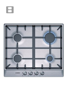 bosch-pcp615b90b-built-in-4-zone-gas-hob-brushed-stainless-steel