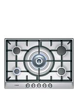 PCQ715B90E Built-in 5 Zone Gas Hob - Stainless Steel