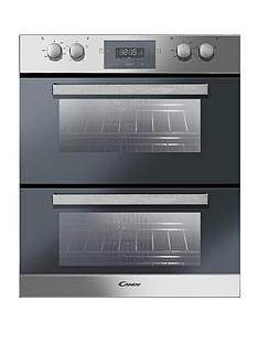 candy-tcp6107x-60cm-built-under-multifunction-double-fan-oven-stainless-steel